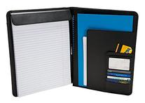 Case-it Executive Leatherette Padfolio with Letter Size