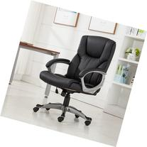 Belleze© Executive Modern High-Back Leather Chair Home