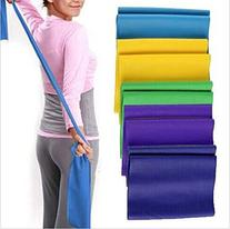 Exercise Bands--yoga Pilates Rubber Stretch Resistance