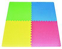 16-square-ft Multi-Color Exercise Mat Anti-fatigue