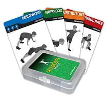 Fitdeck Kids Exercise Playing Cards for Guided Workouts,