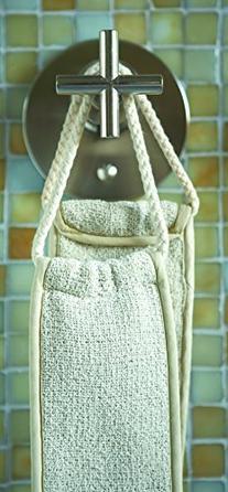 Aquis - Exfoliating Back Scrubber, Deep Clean & Invigorate
