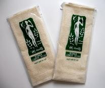 Touch Me ® Exfoliating Spa Bath Ramie and Sisal Skin Towel