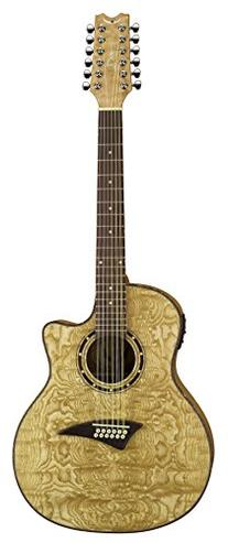 Dean Exotica Quilt Ash Acoustic-Electric 12 String Guitar,