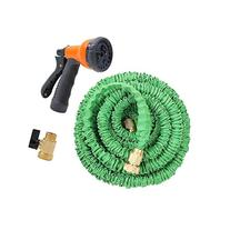 econoLED Expandable Garden Hose with Brass Connector and