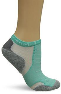 Thorlo Women's Experia Micro-Mini Crew Sock, Spearmint,