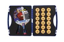 JOOLA Expert Table Tennis Tour Case with Two Rossi Smash