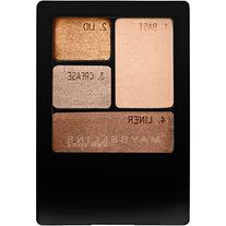 Maybelline Expert Wear Eyeshadow Quad, Chai Latte, .17 oz