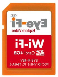 Eye-Fi 4 GB Explore Video SDHC Wireless Flash Memory Card