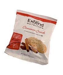 Extend Crisps, Cinnamon, 1.1 oz. Bags