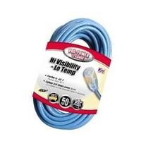 Coleman Cable #02568-06 50' 12/3 Blue Extention Cord