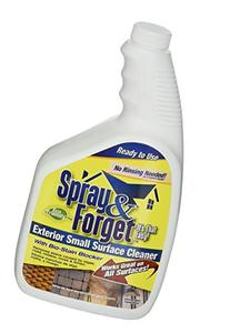Spray & Forget Exterior Small Surface Cleaner with Spray