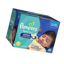 Pampers Extra Protection Diapers Size 6, 54 ea