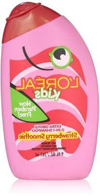 L'Oreal Kids 2-in-1 Shampoo for Extra Softness, Strawberry