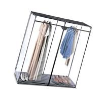 WHITMOR 6013-167 EXTRA WIDE CLOTHES CLOSET 60IN