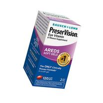 PreserVision Eye Vitamin and Mineral Supplement Soft Gels -