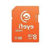 Eyefi Mobi 8GB Class 10 Wi-Fi SDHC Card with 90-day Eyefi