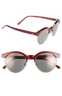 Women's Oliver Peoples Ezelle 51Mm Retro Sunglasses - Red