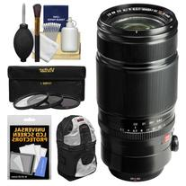 Fujifilm 50-140mm f/2.8 R LM OIS WR Zoom Lens with Backpack