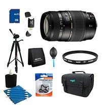 Tamron 70-300mm f/4-5.6 DI LD Macro Lens Pro Kit for Nikon