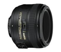 Nikon AF-S FX NIKKOR 50mm f/1.4G Lens with Auto Focus for