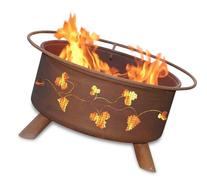 Patina Products F111,  30 Inch Grapevines Fire Pit