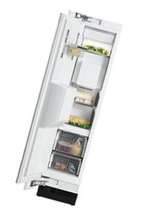 "F1473SF Stainless Steel 18"" Single Door All Freezer with 8"