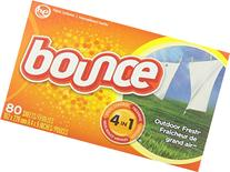 Bounce Fabric Softener Sheets Outdoor Fresh 80 / Pack