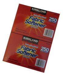 Kirkland Signature Premium Fabric Softener Sheets,