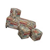 4-Pc Fabric Storage Chest Set