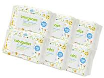Face, Hand & Baby Wipes, Fragrance Free, 600 Count