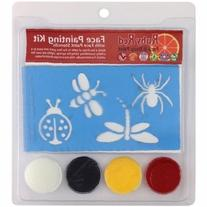 Ruby Red Face Painting Stencil Kit-Bugs
