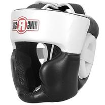 Ringside New Full Face Training Headgear, Black, Large