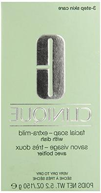 Clinique Facial Soap-Extra-Mild With Dish - Very Dry To Dry