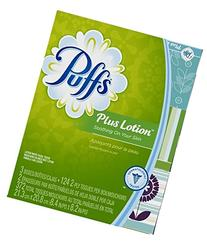 Puffs Facial Tissue 2-Ply Plus Lotion 372 Tissues 372 CT
