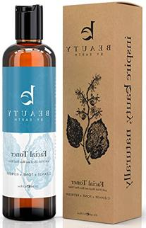 Facial Toner with Organic and Natural Witch Hazel Rose Water