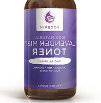 Lavender Mist Face Toner - 100% Natural Mist Spray Facial