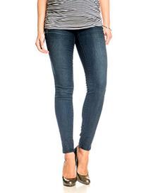 Motherhood Fade To Blue Secret Fit Belly 5 Pocket Skinny Leg