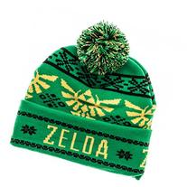 The Legend of Zelda Fair Isle Cuff/Pom Beanie