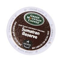 Green Mountain Coffee Fair Trade Organic Sumatran Reserve, K