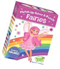 Peaceable Kingdom Fairies Color Match Up Memory Game and