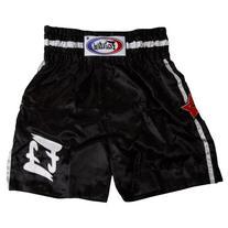Fairtex F2 Boxing Trunk, Medium, Black