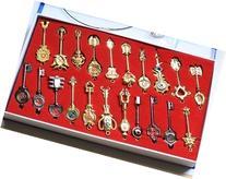 Econoled New Fairy Tail Pro Set 21 Golden Zodiac Keys