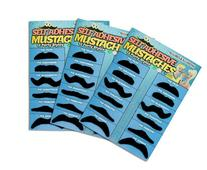 36 Pack Fake Mustache Mustaches Novelty 36pk By Allures &