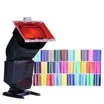 Falcon Eyes CFA-30K Flash Speedlite 30 Colors Color Gel Kit