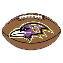"""Fan Mats 5674 NFL - Baltimore Ravens 22"""" x 35"""" Football"""