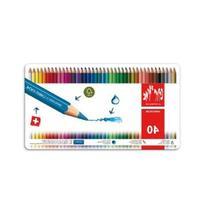 Caran d'Ache Fancolor Color Pencils, 40 Colors