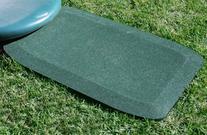 KidWise 1.5 Inch Fanny Pads - GREEN Rubber Wear Mats