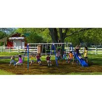 Flexible Flyer Fantastic Playground Metal Swing Set
