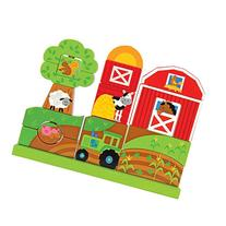 Stephen Joseph Wooden Stacking Set, Farm